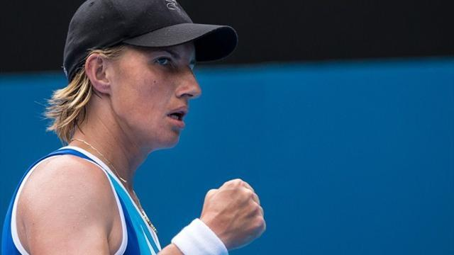 Tennis - Kuznetsova overcomes Wozniacki and Sydney heat