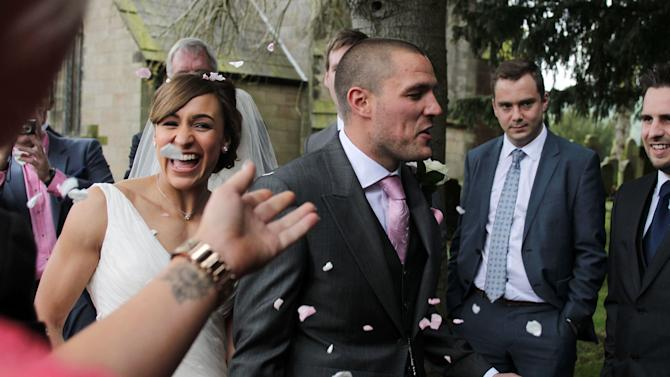Jessica Ennis wedding