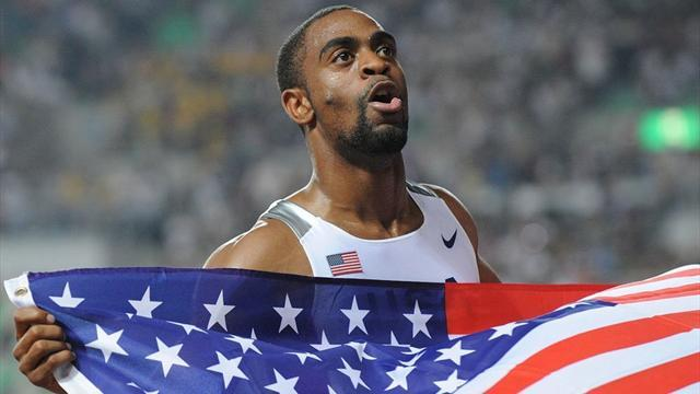 Athletics - Tyson Gay admits testing positive, pulls out of world championships