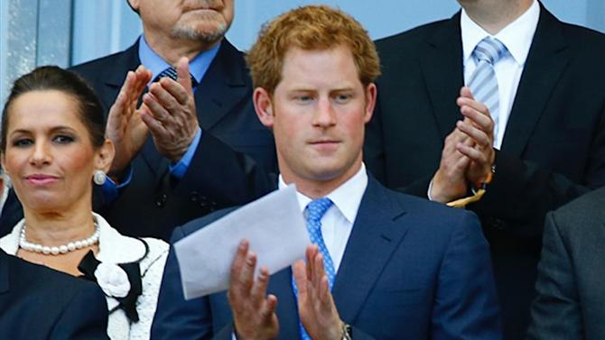 World Cup - Prince Harry shows up to watch England dead rubber