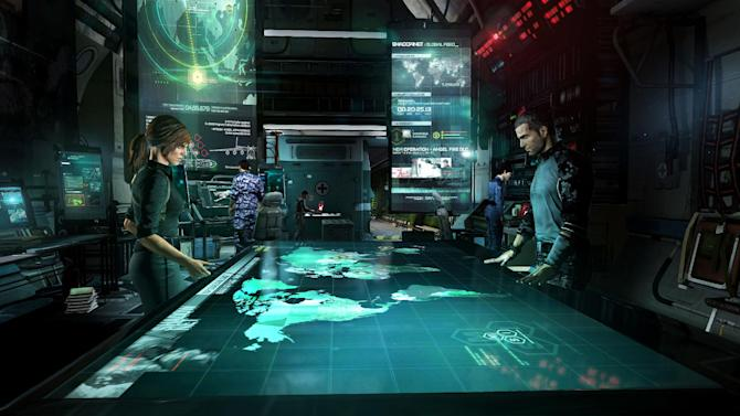 "This undated publicity photo released by Ubisoft Toronto/Ubisoft Entertainment shows a scene from the video game, ""Splinter Cell: Blacklist."" (AP Photo/Ubisoft Toronto/Ubisoft Entertainment)"