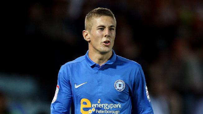 Peterborough's Daniel Kearns will spend a month on loan at York