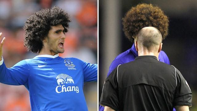 Premier League - Fellaini: Big hair means I get booked more