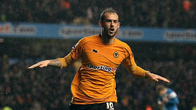 Steven Fletcher was Wolves' top goalscorer last season