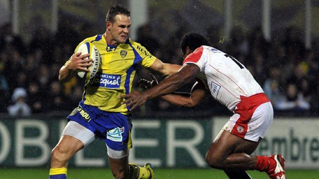 Top 14 - Clermont beat Biarritz to join Toulon at top