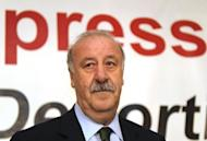 Spain coach Vicente Del Bosque, pictured on May 4, has admitted he is worried about David Villa's chances of competing at Euro 2012, only days after pledging to wait until the last moment before ruling out his injured striker