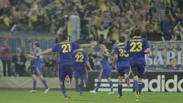 Champions League - BATE clinch seventh consecutive Belarus title