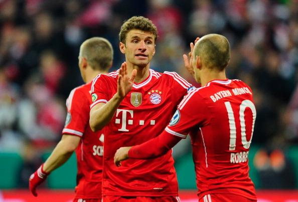Bayern reach German Cup Final, stay on course for second straight treble