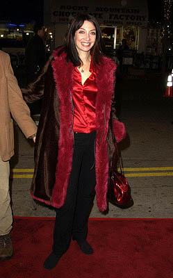 Illeana Douglas at the LA premiere of Miramax's Kate & Leopold