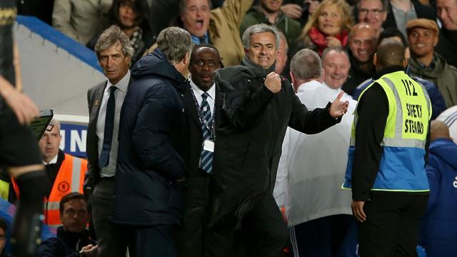 Premier League - Pellegrini declines Mourinho handshake after late drama