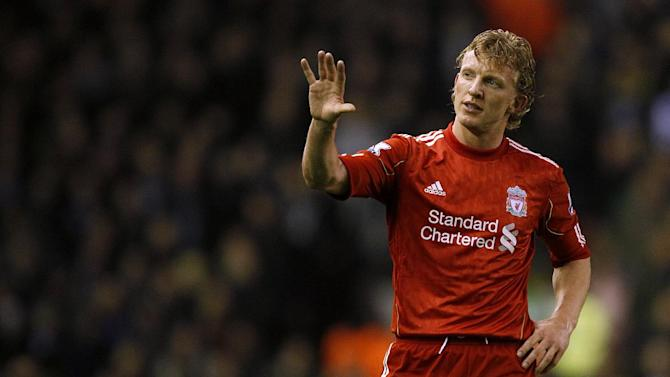 Dirk Kuyt said Liverpool fans have wished him luck as he leaves the club