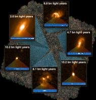 The survey has pinpointed some of the brightest galaxies in the universe (Image: Herschel/Keck)