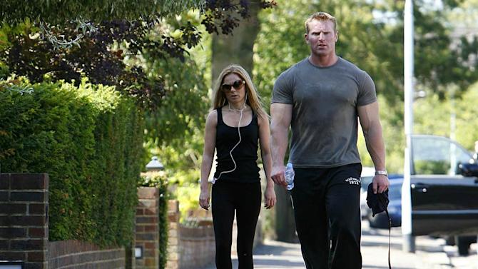 Halliwell Geri Working Out