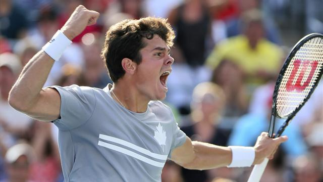 Tennis - Raonic through to Montreal final