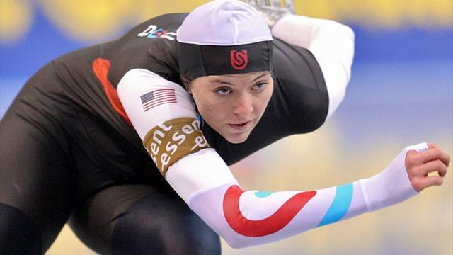 Speed Skating - Richardson and Mulder win world sprint titles