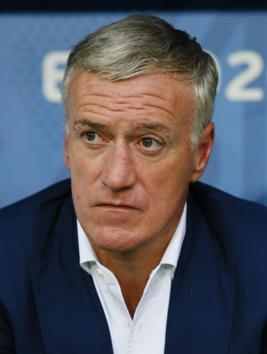 France head coach Didier Deschamps