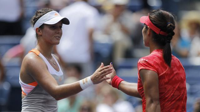 US Open - Li Na overcomes Robson in New York