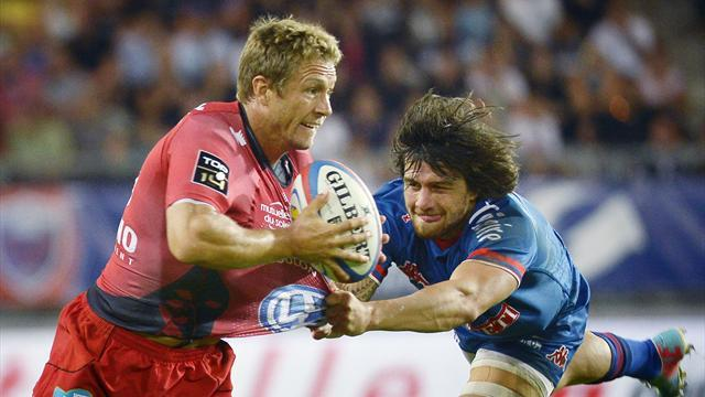 Top 14 - Late drama as Grenoble stun Toulon at home