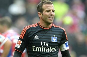 Sporting KC keen to sign Van der Vaart