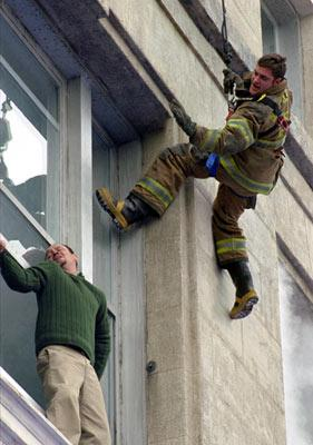Joaquin Phoenix in Touchstone's Ladder 49