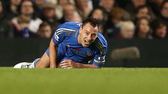 Premier League - Terry out for 'weeks not months' say Chelsea