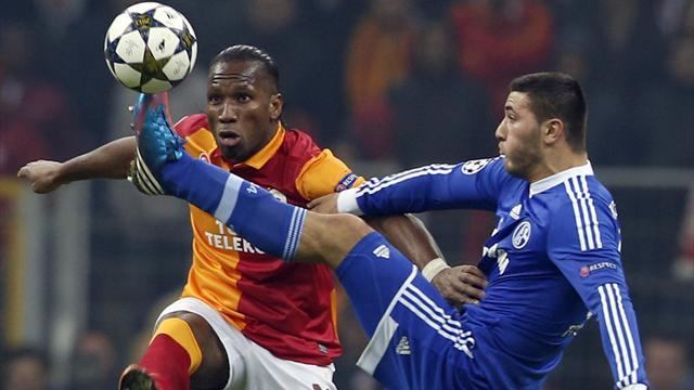 Champions League - Schalke v Galatasaray: LIVE