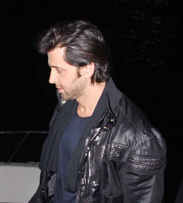 How did Hrithik celebrate his birthday?