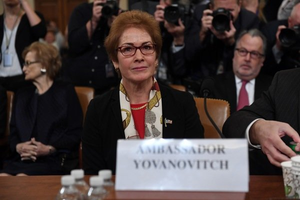 Amb. Yovanovitch said Sondland told her to 'praise the president'