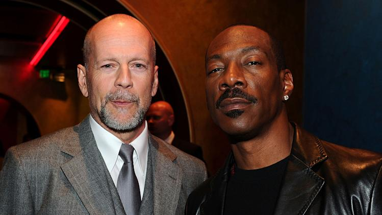 Prince of Persia Sands of Time LA Premiere 2010 Bruce Willis Eddie Murphy
