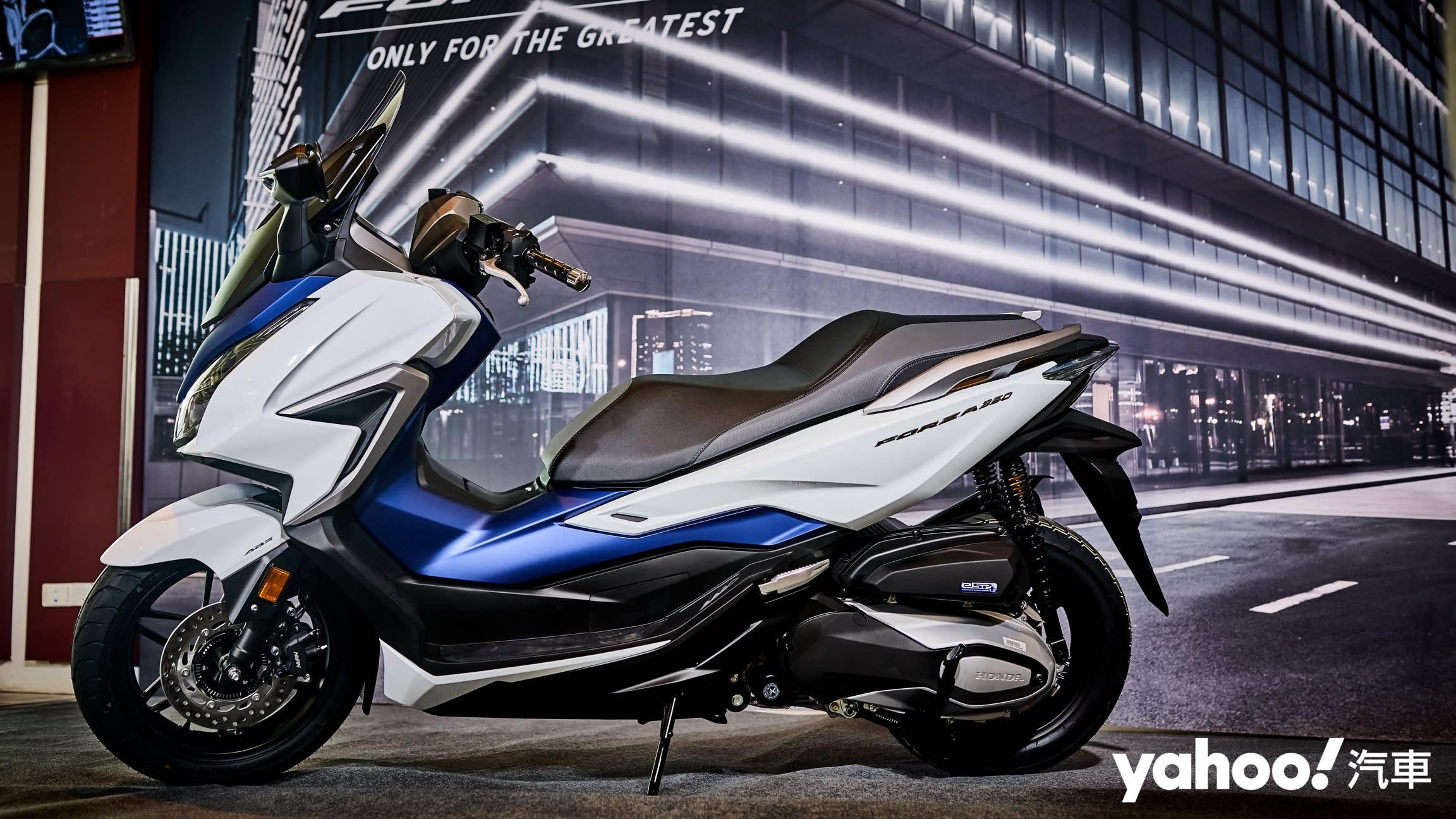 【新車圖輯】無預警現身本田賽道日!2021全新Honda Forza 350在台首亮相!