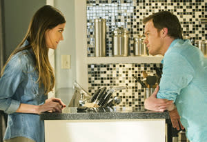 Jennifer Carpenter and Michael C. Hall | Photo Credits: Randy Tepper/Showtime