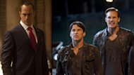 Christopher Meloni, Stephen Moyer, Alexander Skarsgard in 'True Blood' Season 5 -- HBO/John P. Johnson