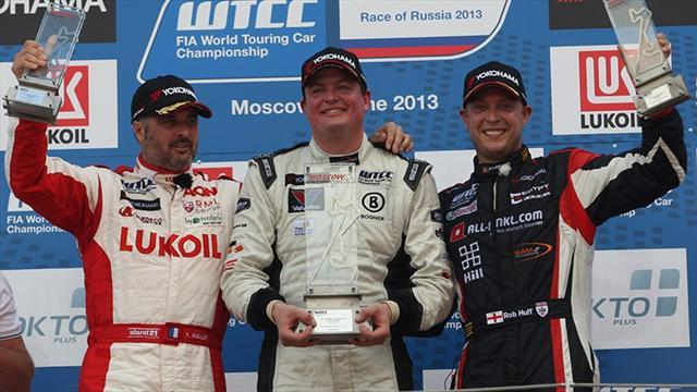 WTCC - Muller and Nykjær happy with Moscow wins