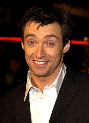 Hugh Jackman at the LA premiere of Miramax's Kate & Leopold