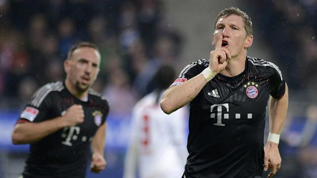 German Bundesliga  - Bayern crush Hamburg to open up seven-point lead