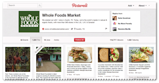 Marketing Evolution: How Brands Can Move From Text To Images image wholefoods