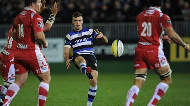 George Ford, centre, has impressed for Bath (PA Sport)