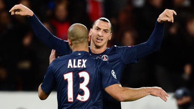 Ligue 1 - Ibrahimovic sparkles in new PSG playmaker role