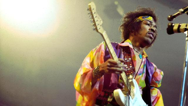 Rock Stars Remember Jimi Hendrix