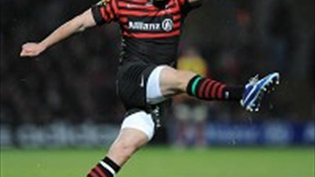 Rugby - Sarries have it easy