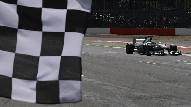 Formula 1 - Rosberg keeps British GP win after escaping with reprimand
