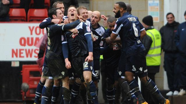 Championship - Millwall stop rot with derby win over Charlton