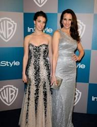 Actresses Rainey Qualley with her mother Andie MacDowell pictured in January 2012. You wouldn't think that MacDowell would have confidence problems. But the US actress and long-time face of cosmetic giant L'Oreal insists she is like any other woman getting older