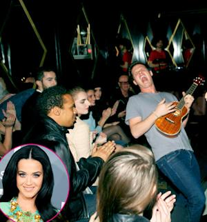 Katy Perry Supports Younger Brother David Hudson at Hollywood Music Showcase