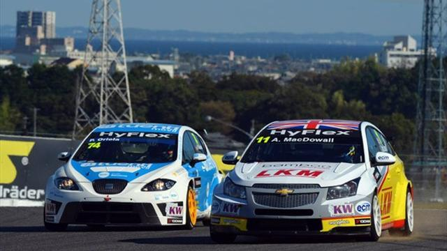 WTCC - Battle for Yokohama Trophy hots up