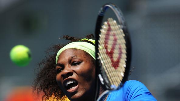 Serena Williams Of The USA Plays Getty Images
