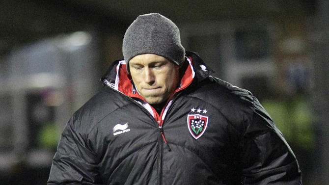 Toulon's Jonny Wilkinson walks on the sidelines during a 6-3 defeat from his former club, Newcastle Falcons in pool 2, European Challenge Cup rugby union match at Kingston Park, Newcastle upon Tyne, England, on December 08, 2011. AFP PHOTO/GRAHAM STUART (Photo credit should read GRAHAM STUART/AFP/Getty Images)