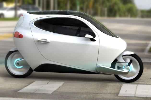 Now, a two-wheeled, self-balancing car!
