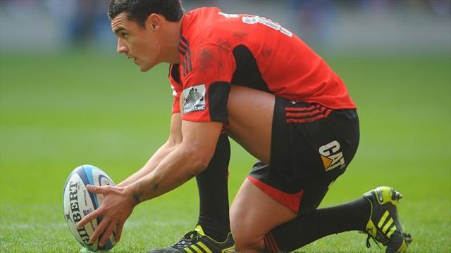Rugby - Crusaders edge out Waratahs
