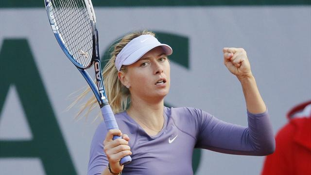 French Open - Solid Sharapova passes Stephens test